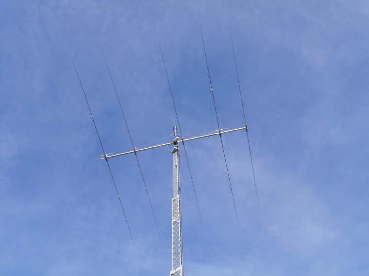 OPTIBEAM  OB8040x big Duoband-Yagi 80-40m (full sized elements 40m)